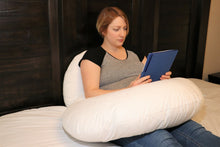 "Load image into Gallery viewer, Ultimate Mum Pillows - The Huggable ""6 in 1"" Pregnancy / Nursing Pillow"