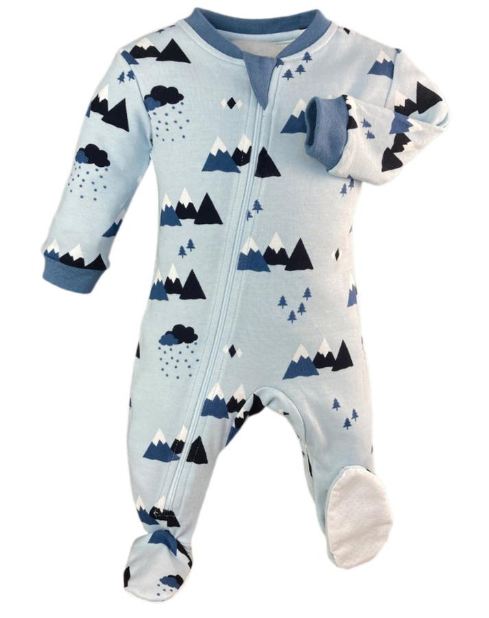 Zippy Jamz Zipper Footed Sleeper - Little Adventurer