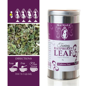 Matraea Organic Toning Raspberry Leaf Tea