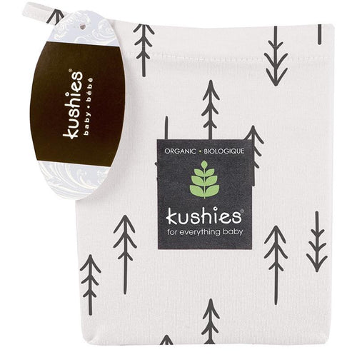 Kushies Organic Jersey | Changing Pad Cover w-Slits for Safety Straps