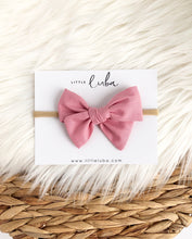 Load image into Gallery viewer, Little Luba Sailor Bow Headband