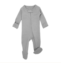 Load image into Gallery viewer, LovedBaby Organic Zipper Footie Sleeper