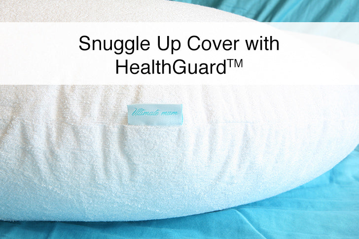 Ultimate Mum Pullows - Premium Bamboo Terry Pillow Cover with HealthGuard for