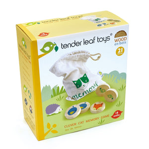 Tender Leaf Clever Cat Memory Game