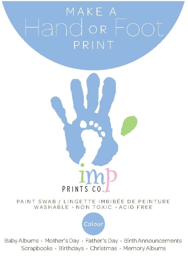 Imp Prints Hand + Foot Paint Swab