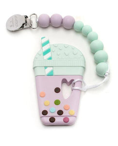 Silicone Teether Holder Set