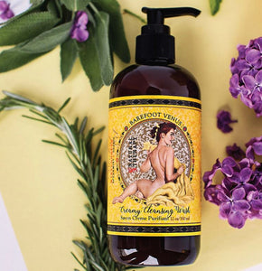 Barefoot Venus Essential Oil ~ Creamy Cleansing Wash