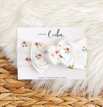 Load image into Gallery viewer, Little Luba Tie On Headwraps