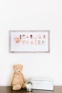 Rustic First Year Frame