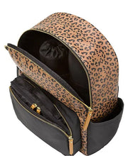 Load image into Gallery viewer, Petunia Pickle Bottom District 5-Piece Leopard-Print Diaper Backpack Set
