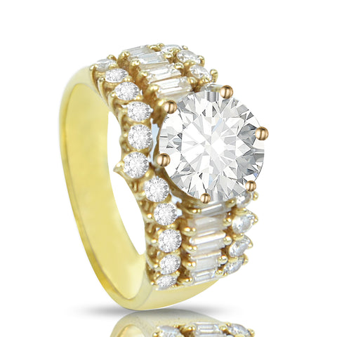 18K ENGAGEMENT RING (EXCLUSIVE TO PRECIOUS)