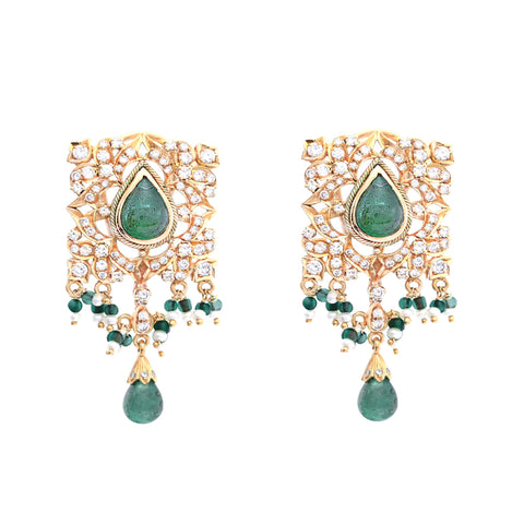 18K EMERALD EARRINGS (EXCLUSIVE TO PRECIOUS)