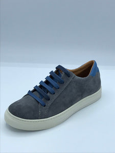 FRODDO 4130075-2 GREY LACE TRAINER SHOE