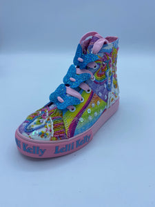 LELLI KELLY LK9090 UNICORN MULTI HI TOP