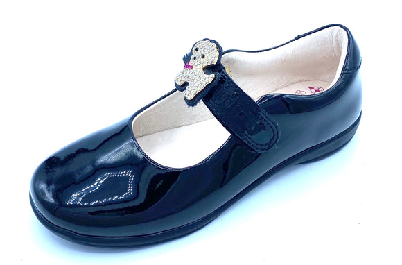 LELLI KELLY LK8217 F POPPY2 BLACK PATENT MARY JANE