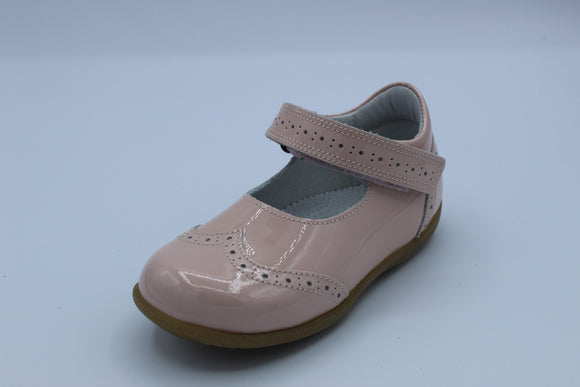 BOBELL TINA PALE PINK PATENT MARY JANE SHOE