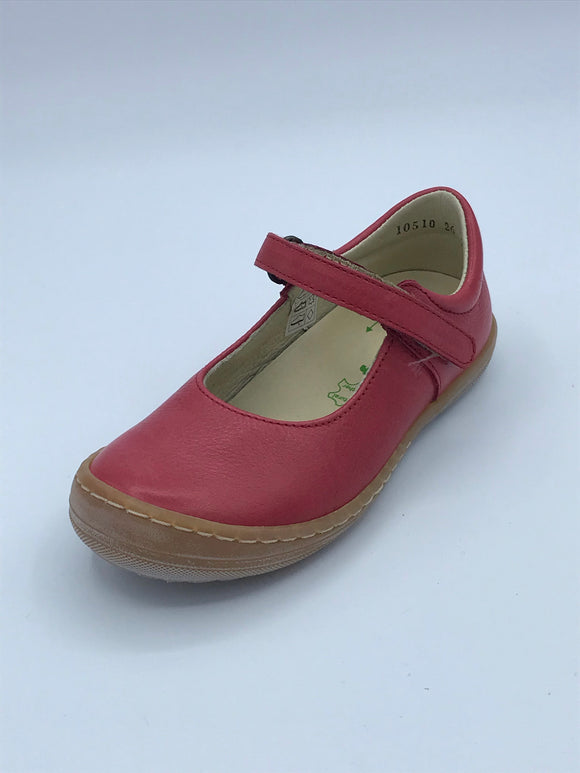 FRODDO 3140042-3 RED LEATHER MARY JANE