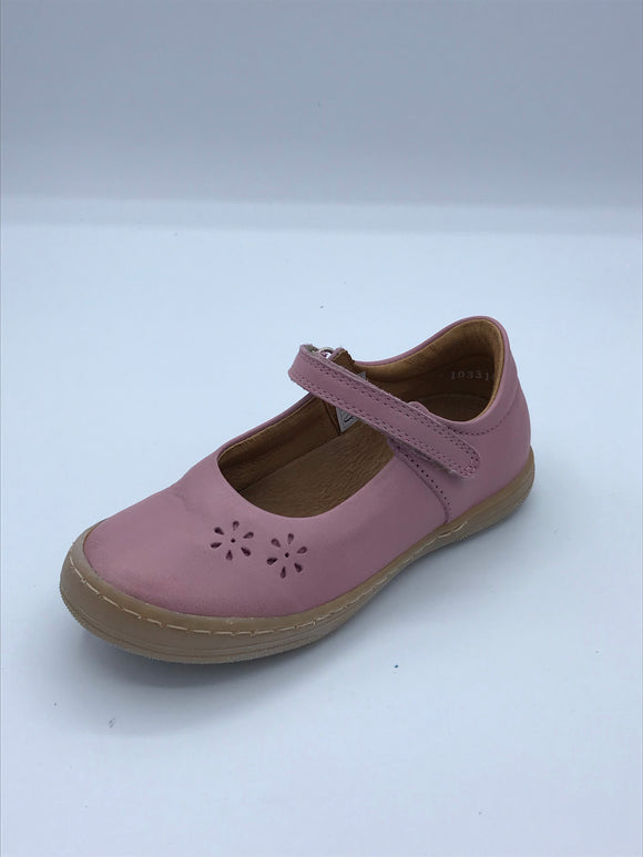 FRODDO 3140097-6 PALE PINK LEATHER MARY JANE