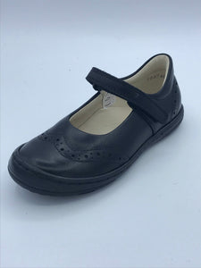 FRODDO 3140077 BLACK LEATHER BROGUE MARY JANE