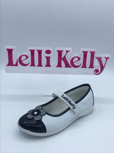 LELLI KELLY LK4606 EMMA NAVY/WHITE MARY JANE