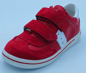 RICOSTA HENRY RED VELCRO TRAINER