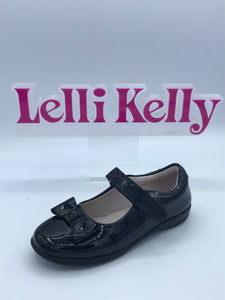 LELLI KELLY LK8246 G PERRIE BLACK BOW MARY JANE