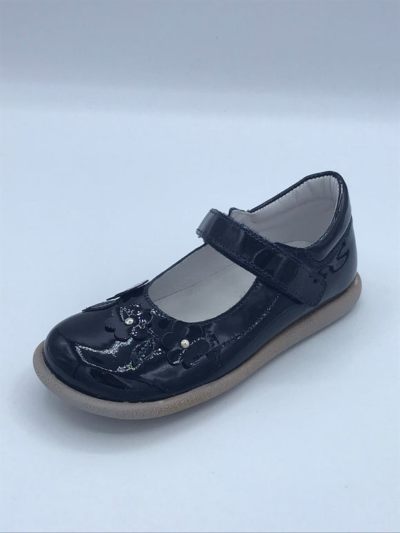 BOBELL BEATRIC3 NAVY PATENT MARY JANE SHOE