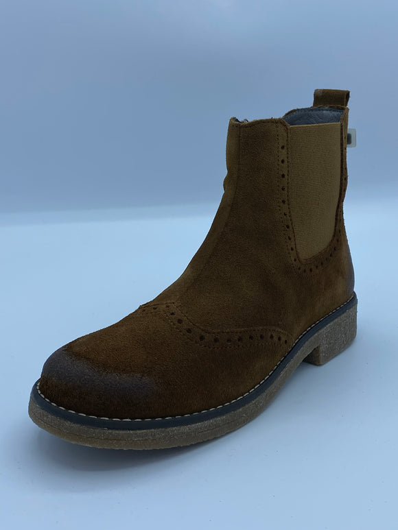 BOBELL PLUTO TAN SUEDE CHELSEA BOOT