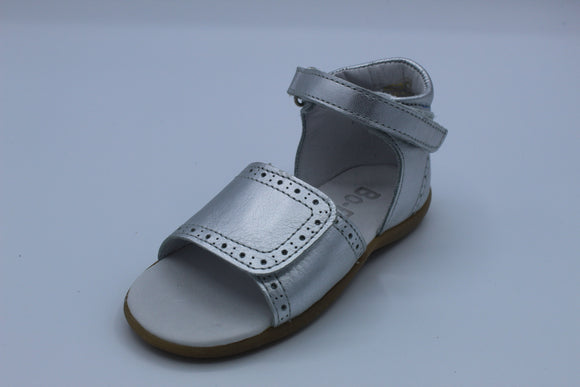 BOBELL TERESE SILVER LEATHER SANDAL