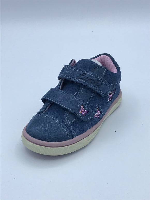 LURCHI MIRILL BLUE/PINK TRAINER 33-13313-22