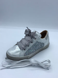 FRODDO 3130141 WHITE GLITTER TRAINER SHOE