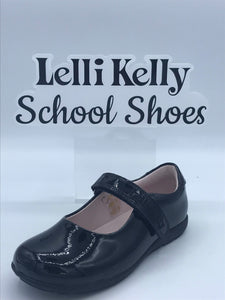 LELLI KELLY LK8218 F CLASSIC BLACK PATENT MARY JANE