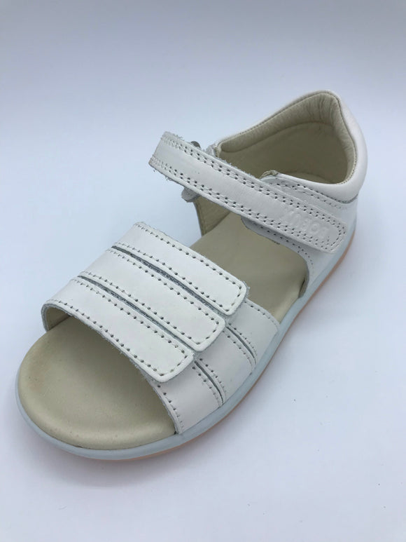 BOBUX I WALK WHITE OPEN SANDAL 630103