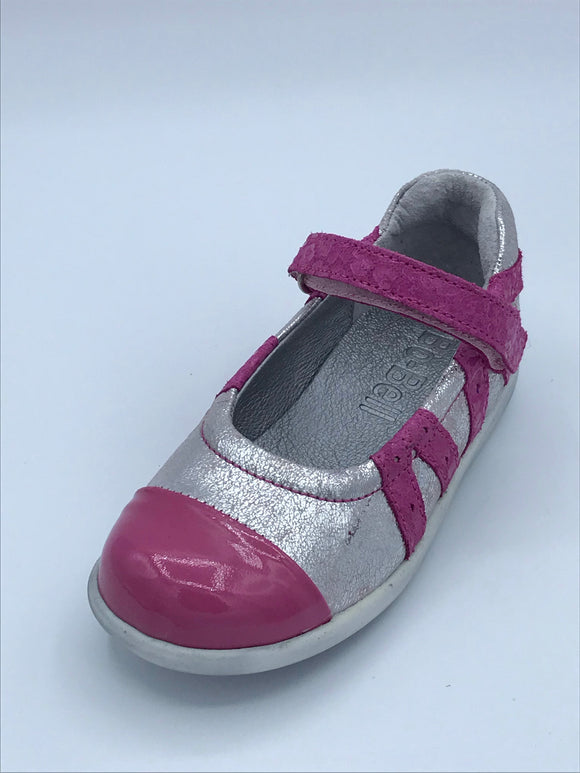 BOBELL ADRESS FUCHSIA PINK /SILVER MARY JANE SHOE