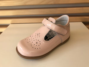 BOBELL PALE PINK PATENT T BAR