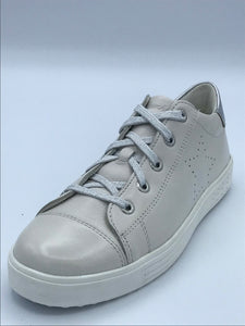 LURCHI INA WHITE LEATHER TRAINER 33-12020-01