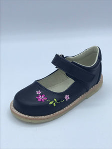 ICKLE SHOOZ PANSY MARY JANE NAVY LEATHER
