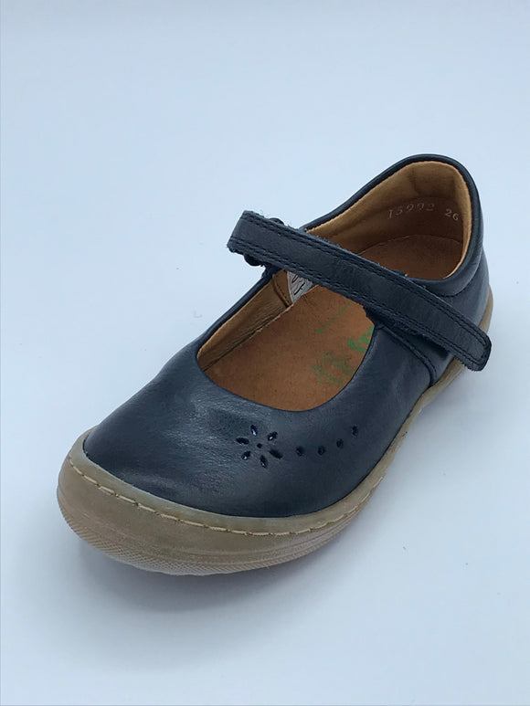 FRODDO 3140061-2 NAVY LEATHER MARY JANE