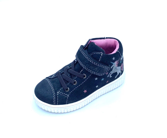 LURCHI YUNA TEX CHARCOAL GREY HI TOP  33-37000-25
