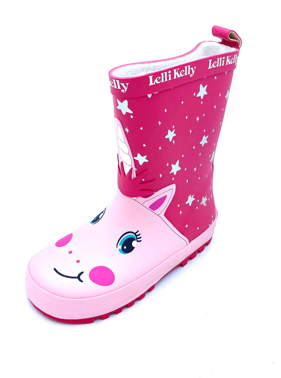 LELLI KELLY UNICORN WELLIES
