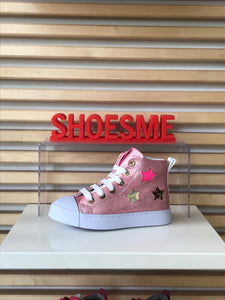 SHOESME PINK HI TOP