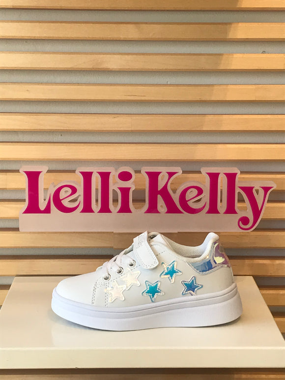 LELLI KELLY LK1828 MOLLY WHITE STAR TRAINER