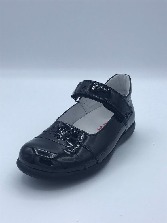 BOBELL OPEL F BLACK PATENT MARY JANE SHOE