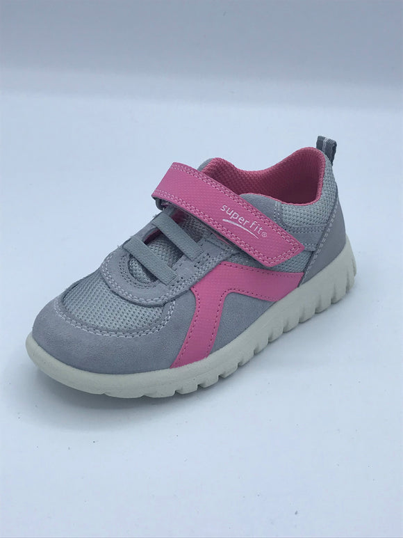 SUPERFIT SPORT7 MINI 4-09192-25 GREY/PINK TRAINER