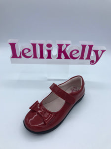 LELLI KELLY LK8206 F PERRIE RED BOW MARY JANE