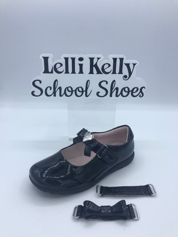 LELLI KELLY LK8040 G RACHEL BLACK PATENT MARY JANE