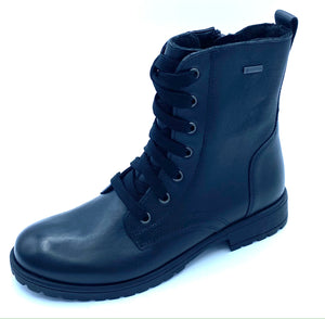 SUPERFIT SNAPPER GALAXY LACE 1-006170-0000 BLACK GORETEX BOOT
