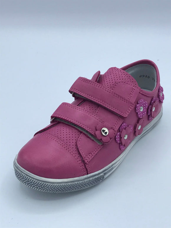 FRODDO 3130077 FUCHSIA FLOWER TRAINER SHOE