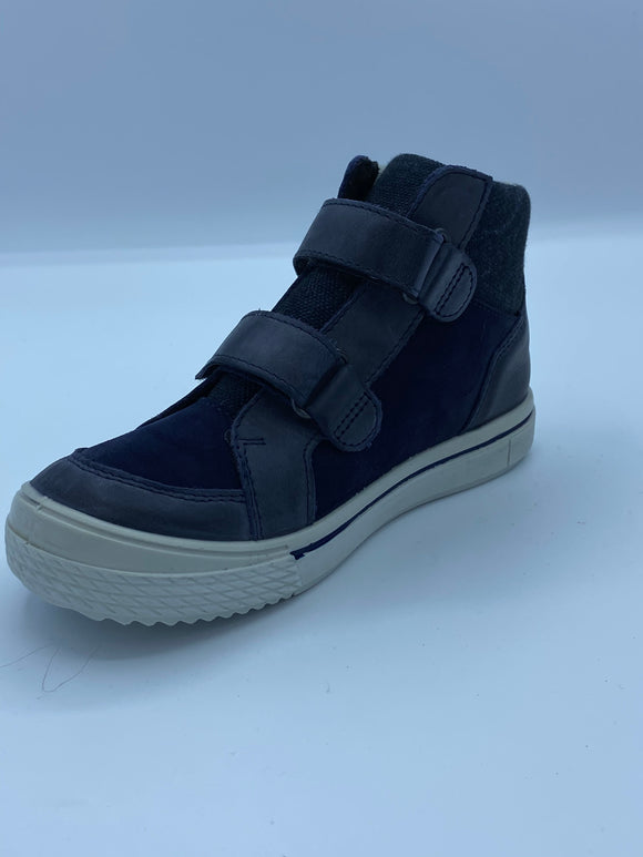 RICOSTA JASPER NAVY BLUE SYMPATEX ANKLE BOOT