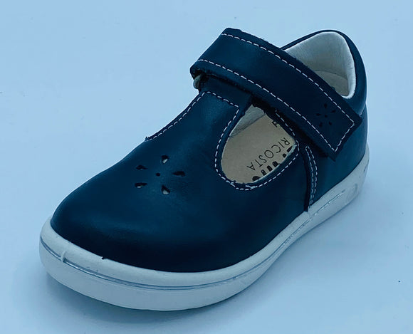 RICOSTA WINONA NAUTIC NAVY T BAR